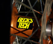 Jason Beck race bike hub