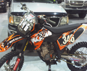 ECRA Supercross bike