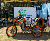 Tracy Forward's KTM 250SXF