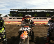 Beck's Tech team rider Brien Devillo - 2013 Daytona Supercross