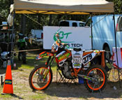 Tracy Forward Becks Tech bike